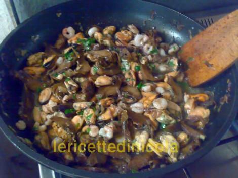 cucina,ricetta,ricette,ricette primi piatti,ricette con carciofi,ricette con gamberi,ricette cozze,ricette footografate,