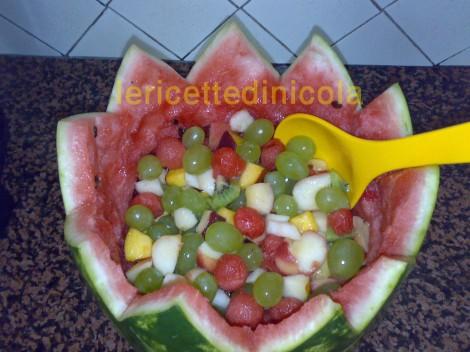 ricetta,ricette,cucina delle feste,frutta,come presentare la frutta,ferragosto,