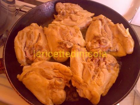 cucina,ricetta,ricette,ricette pollo,ricetta fotografata,ricetta  con fagiolini toscani,