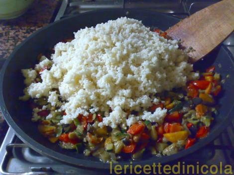 cucina,ricetta,ricette,ricetta couscous,ricetta vegetariana,primi piatti,ricetta fotografata,cena fredda,scuola di cucina,