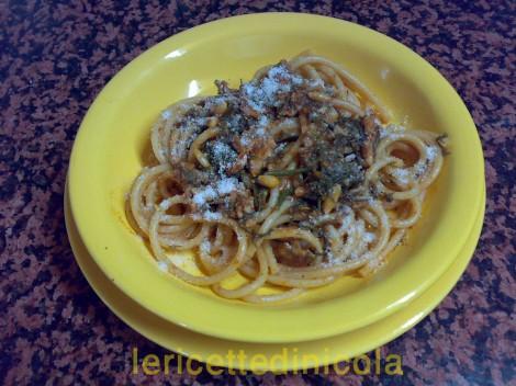 ricetta,ricette,primi,cucina,cucina regionale,ingredienti,pasta alla palermitana,bucatini,sarde,finocchietto