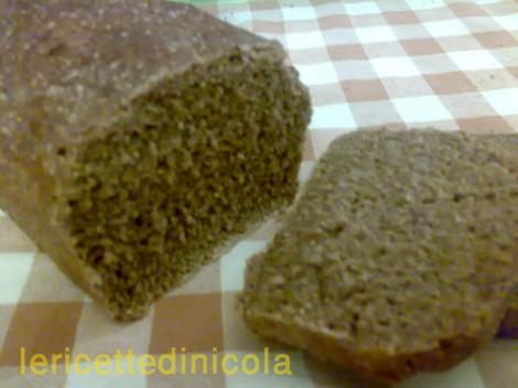 cucina,ricetta,ricette,ricetta pane di segale,pane integrale,pane fatto in casa,ricetta fotografata,