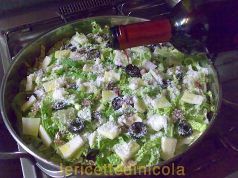 cucina,ricetta,ricette,ricetta fotografata,ricetta cavolo verza,ricetta siciliana,ricetta vegetariana