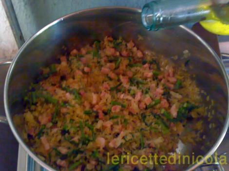 cucina,ricetta,ricette,risotti,ricetta con asparagi,ricetta fotografata