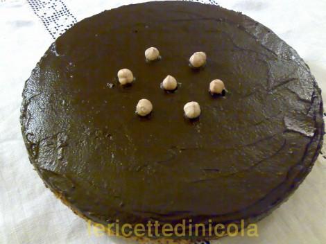 cucina,ricetta,ricette,ricette torte,dolce con nocciole,dolce con cioccolato,ricetta fotografata passo passo,scuola di cucina