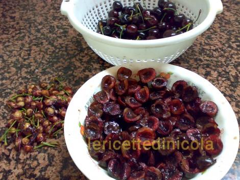 cucina,ricetta,ricette,marmellate,confetture,conserve,ricette fotografate,ciliegie,marmellate casalinghe,colazione,