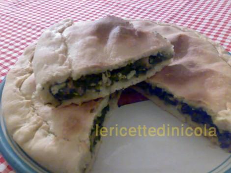 cucina,ricetta,ricette,ricette torte salate,scacciata siciliana,ricetta fotografata,ricette con salsiccia,ricette con verdure