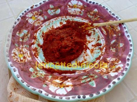 ricetta,estratto di pomodori,concentrato di pomodori,come preparare estratto di pomodori,ricetta con foto,tradizione siciliana.