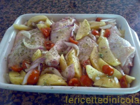 cucina,ricetta,ricette,ingredienti,ricette pollo,cottura al forno,ricette carni bianche,ricetta fotografata