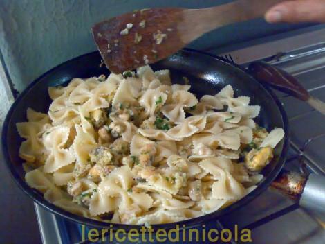 cucina,ricetta,ricette,ricette pasta,ricette primi piatti,ricette fotografate,ricette con gamberi,ricette cozze