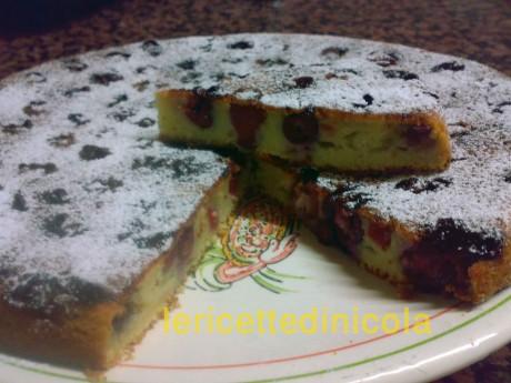 cucina,ricetta,ricette,ricette dolci, dolci casalinghi,dolci con frutta,clafoutis,ciliegie,ricette fotografate,