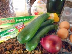 cucina,ricetta,ricette,torte salate,ricetta con zucchine,ricette fotografate,