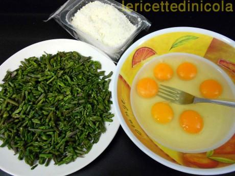 cucina,ricetta,ricette,ricette frittate,asparagi,ricette fotografate,