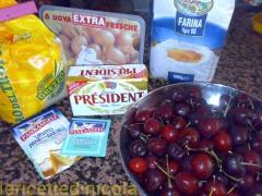 cucina,ricetta,ricette,dolci,dolci alla frutta,dolci casalinghi,ricetta fotografata,ricetta con ciliegie