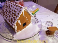 cucina,ricetta,ricette,ricette di natale,come assemblare gingerbread house,ricetta fotografata,ricette per bambini,