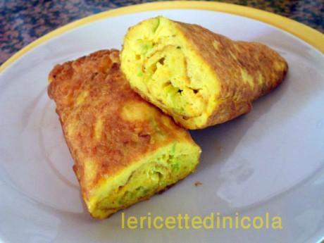 cucina,ricetta,ricette,ricette con fiori di zucca,frittate,antipasti,ricette siciliane,ricette economiche