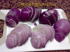 cucina,ricetta,ricette,conserve casalinghe,cipolla agrodolce,ricetta fotografata,antipasti,contorni,cipolla calabria