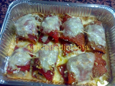 cucina,ricetta,ricette,ingredienti,peperoni,involtini,ricette fotografate,
