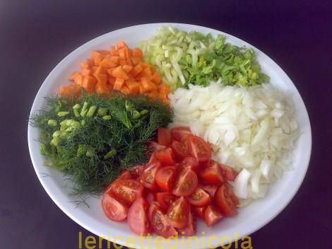 cucina,ricetta,ricette,zuppe,zuppa fagioli,ricetta vegetariana,ricetta fotografata,ricette tradizionali,
