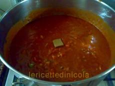 cucina,ricetta,ricette,cucina tradizionale,polpette,pasta casereccia,ricetta fotografata,pranco domenicale