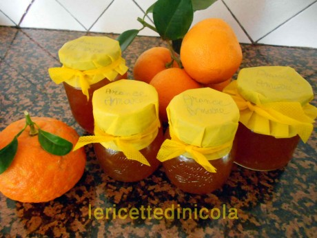 cucina,ricetta,ricette,ricette marmellate,marmellata arance amare,ricette fotografate