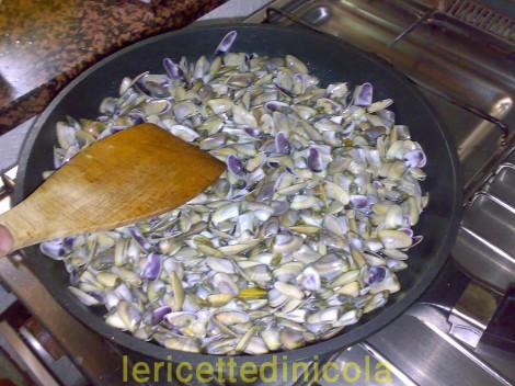 cucina,ricetta,ricette,ricette pesce,come conservare le telline,ricetta illustrata,ricetta marinara