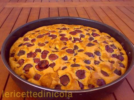 cucina,ricetta,ricette,dolci,dolci alla frutta,dolci casalinghi,ricetta fotografata,ricetta con ciliegie,