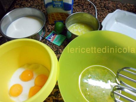 cucina,ricetta,ricette,dolci fatti a casa,ricette fotografate,torta magica,dolci colazione