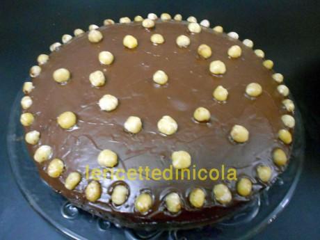 cucina,ricetta,ricette,ricette torte,dolce con nocciole,dolce con cioccolato,ricetta fotografata passo passo,scuola di cucina,dolci casalinghi