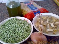cucina,ricetta,ricette,ricette con carciofi,ricette primi piatti,ricette fotografate,ricette pasta,