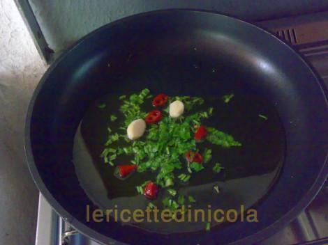 cucina,ricetta,ricette,ricette primi piatti,ricetta veloce,ricetta fotografata,ricetta con cozze,