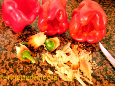 cucina,ricetta,ricette,ricette secondi di carne,cottura al forno,ricette carne tritata,ricette con peperoni,