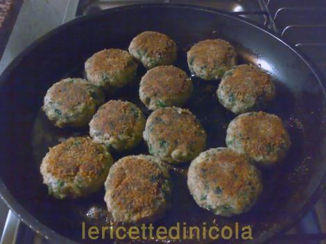 cucina,ricetta,ricette,ricette polpette,ricette fotografate,ricette con spinaci,ricette con patate,carne mista vitello maiale,