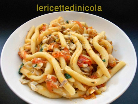 cucina,ricetta,ricette,ricette pasta,ricette triglie,ricette pesce,ricette fotografate,primi piatti con pesce,