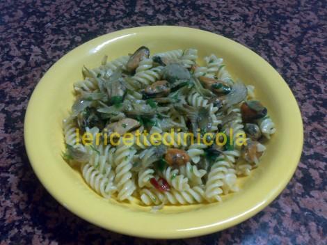 cucina,ricetta,ricette,ricette primi piatti,ricette fotografate,ricette con carciofi,ricette con cozze