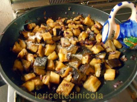 cucina,ricetta,ricette,melanzane,pietanze in agrodolce,ricette con foto,ricette vegetariane,