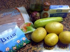 cucina,ricetta,ricette,ricetta con patate,torta di patate,piatti unici,cena,ricetta fotografata,