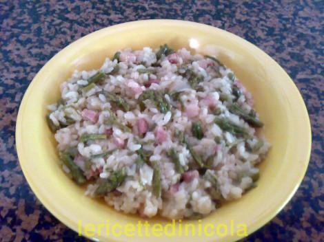 cucina,ricetta,ricette,risotti,ricetta con asparagi,ricetta fotografata,