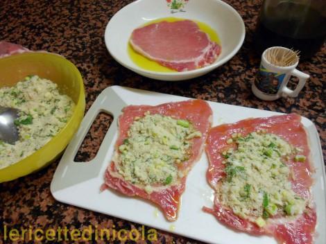 cucina,ricetta,ricette,ricette di carne,involtini di carne,ricetta siciliana,ricetta fotografata,ricetta con arance,