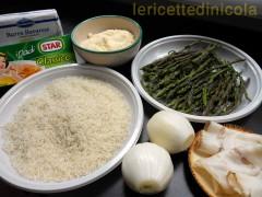 cucina,ricetta,ricette,ricette con asparagi,ricette risotti,ricette fotografate,asparagi selvatici,