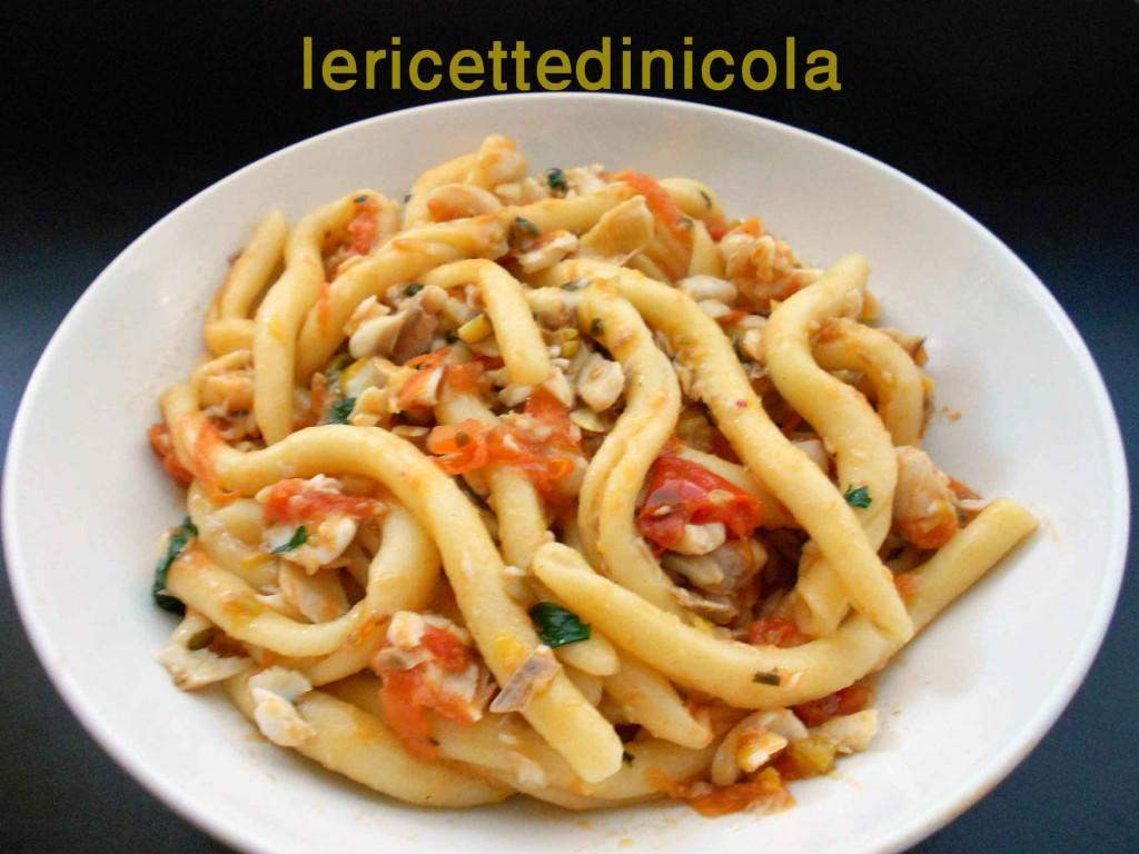 Primi piatti con pesce le ricette di nicola for Ricette primi piatti